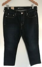 Levis 505 Straight Leg Womens Mid Rise Jeans 100% Cotton W32 L40 *New*