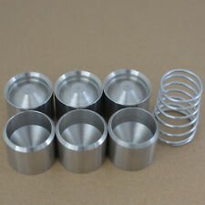 """D cell 8.25/"""" Tube End Cap Hiking stick Extention Maglite threaded 2 caps 5//8/""""-24"""