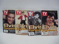 Elvis-Presley-TV-Guides-August-16-22-1997-Set-of-4-Elvis-Forever-collectors