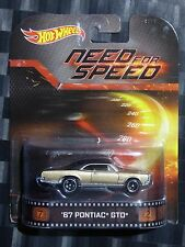 2014 HOTWHEELS - Retro entertainment B - NEED FOR SPEED - '67 Pontiac GTO