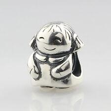 Retired Pandora .925 Charm Jewelry Happy Girl