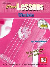 Jerry Moore: First Lessons Ukulele (Book/CD)