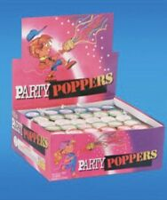 72 Pack Champagne Party Poppers Confetti Pop Kid Birthday Decor Wedding Supplies