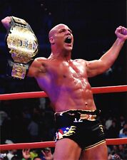 TNA PHOTO KURT ANGLE WORLD HEAVYWEIGHT CHAMPION 8x10 PROMO PICTURE wwe