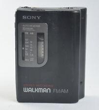 SONY WALKMAN WM-GX35 AM/FM STEREO RADIO CASSETTE RECORDER PERSONAL TAPE PLAYER