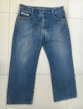 Mens Diesel Jeans Size W36 L27 Straight Leg Blue Denim Zip Fly