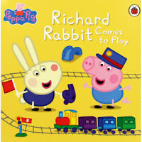 Peppa Pig Story Book - RICHARD RABBIT COMES TO PLAY - NEW