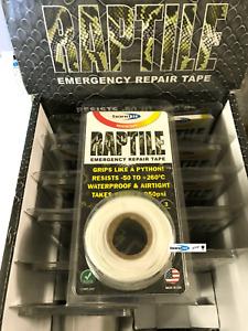 White Silicone Repair Tape Home Car DIY Fix Mechanics Builder Plumbers Emergency
