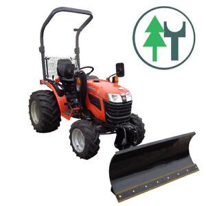 Kleintraktor Traktor Kubota B1181 18,0PS mit hydraulischem Schneeschild 120 cm