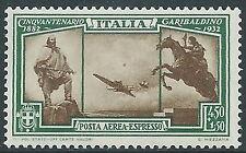 1932 REGNO ESPRESSO AEREO GARIBALDI 4,50 LIRE MNH ** - E74