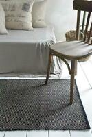 Nostalgie Vintage Teppich Läufer 100% Jute 70x140cm Jeanne d´Arc living Natur