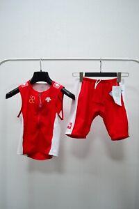 Swiss Triathlon Suit National Team Descente Suisse Switzerland