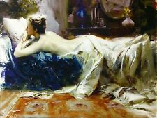 """PINO """"MYSTIC DREAMS""""   SIGNED GICLEE/CANVAS   LARGE 30X40"""" STRETCHED   GALLART"""