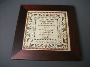 Framed The Country Scribe PA German Fraktur Betty Coflier 1996 Folk Art - i mgo