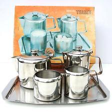 Vintage Retro 1960s Stainless Steel Tea Coffee Set