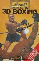 3D Boxing Amstrad CPC Computer Video Game.1985 Amsoft Gold SOFT 06025.