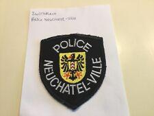 Switserland Police, Schweiz Polizei , Neuchatel-Ville