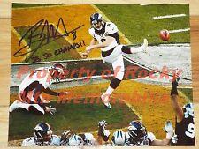 Denver Broncos BRANDON McMANUS Signed Color 8x10 Photo - Super Bowl 50 Champion