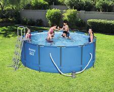 Bestway Steel Pro Max Frame Pool Set 366x122cm mit Filterpumpe, 56420