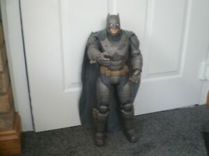LARGE SIZED BATMAN 21 inches ( ARMORED ) WITH CAPE BY JAKKS.