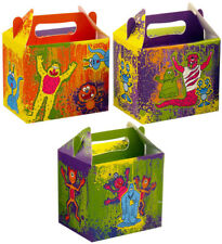 6 Monster Party Boxes - Toy Loot Lunch Cardboard Gift Wedding/Kids