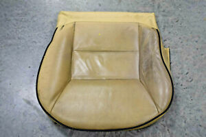 2003 2004 Land Rover Discovery 2 Front Lower Base Seat Cover Squab Alpaca Beige