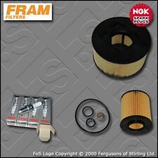 SERVICE KIT BMW 3 SERIES E46 318I N42 FRAM OIL AIR FILTERS PLUGS (2001-2005)