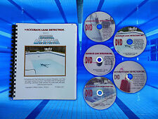 Swimming Pool Leak Detection Training Manual and DVDS