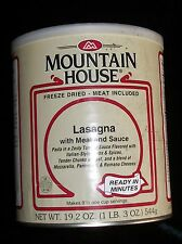 Mountain House Freeze Dried Emergency Prep Lasagna w/ meat sauce 19.2 OZ can