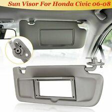 For Honda Civic 2006-2011 83230-SNA-D01Z Right Sunvisor Passenger Side Sun Visor