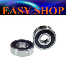 2X 17mm 6303RS Ball Bearings Chain Roller Skateboard Scooter Quad ATV Dirt Bike