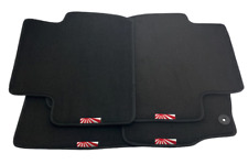 Floor Mats For Mitsubishi With Japan Sunset Black Tailored Carpets Set LHD NEW