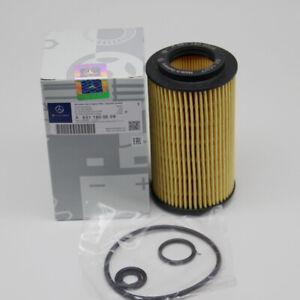 Mercedes-Benz E GLE GLK ML SPRINTER 1.8L 2.1L Engine Oil Filter Kit 6511800009
