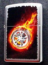 Original ZIPPO Feuerzeug  Tire on Fire  2003151 Neu & OVP