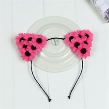 Halloween Devil Headbands Hair Band Fancy Costume Flower Cat Ears Festival Party