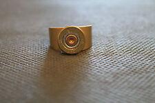 410 Bore Shotgun Shell Head Brass Ring; Shooting Sports Ring