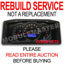 00 01 02 03 04 05 RV Workhorse Actia Instrument Cluster LCD Gauge REBUILD REPAIR