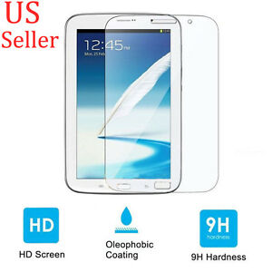 "Tempered Glass Screen Protector Film For Samsung Galaxy Note 8.0"" N5100 Tablet"