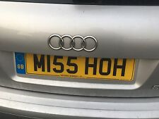 M155 HOH personalised Registration Number plate Miss Initials HOH O'Hara