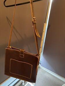 Cute Leather School Bag / Shoulder Bag / 90% New