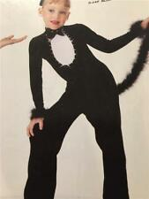 Dance Costume  Jazz  Tap  Pageant Halloween Artstone  Skate Black Cat