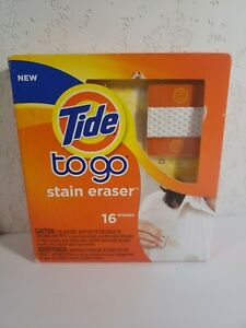 Tide To Go Stain Eraser Stain Remover 16ct. NOS 2012