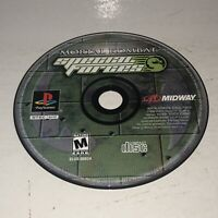 Nice Shape Mortal Kombat Special Forces Sony PlayStation 1 PS1 Works Disc Only