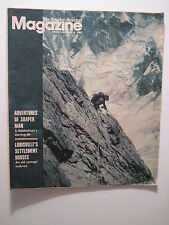 Louisville Courier Journal Magazine. 1980: Mountain Climbing! Meat Loaf Recipes!