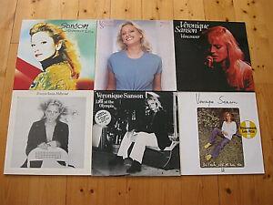 Veronique Sanson - 7 LPs -  SAMMLUNG - Vancouver, Hollywood, Live, 7eme, Moi Le