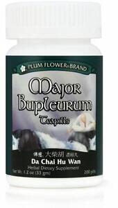 Plum Flower, Major Bupleurum Teapills, Da Chai Hu Wan, 200 ct