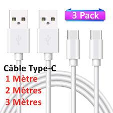 CABLE USB TYPE C 2.4 A POUR SAMSUNG S8 S9 S10 Plus Note 8 9 A20e A40 A50 A8