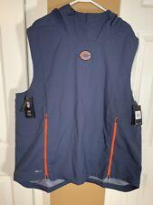 NFL Chicago Bears Nike Shield Fly Rush Hoodie Vest Jacket 906387-459 Men's 2XL