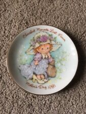 Avon Cherished Moments Last Forever 1981 Mother's Day Plate
