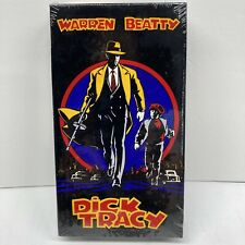 Dick Tracy VHS Beatty Pacino Madonna 1990 Factory Sealed Comic IGS